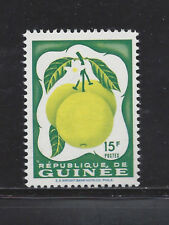 Guinea 176 Mnh Grapefruit *Missing Pink-Peach Color*