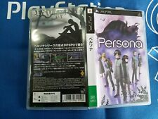 PSP GAME PERSONA (ORIGINAL USED)