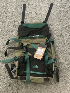 NWT The North Face Steep Tech Pack Backpack TNF Olive Green Black *LIMITED*