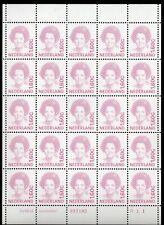 1497 Beatrix 1991 1,60 minivelletje 25sts etsingnummer R11