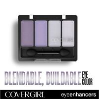 CoverGirl Eye Enhancers 4 Color Eyeshadow Palette: Ice Princess or Crystal Water