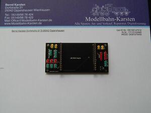 Schnittstellenplatine f. LGB Decoder 55029 aus eigener Herstellung NEU m Buchsen