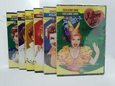I LOVE LUCY - SEASON ONE DVD - VOLUME 1-2-3-4-5-6 - USA EDITION REGION 1
