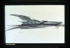 Batman Forever concept artwork Original 35mm Transparency in stamped mount