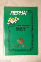 Jubiläumsschrift Repha 1925-1975, Chronik, Godshorn, mit Beiheft