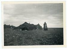 PHOTO Algérie peuple du désert nomade nomadisme campement