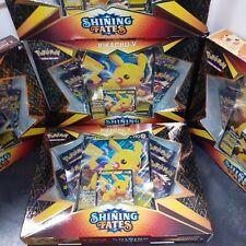 *in Hand* 4x Pokemon TCG Shining Fates Pikachu V Box's