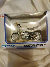 BMW R1100rs Small Model Welly motor-cycle 1:18 scale