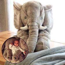 60cm Infant Long Nose Elephant Plush Toy Children Stuffed Doll Kids Sleep Pillow