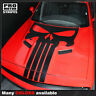 Dodge Challenger 2008-2019 Punisher Skull Hood Stripe Decal (Choose Color)