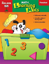 Mailbox Preschool Math Learning Mat color shape size counting comparing pattern