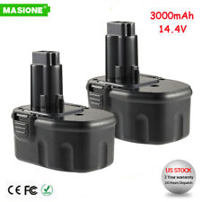 2x Extended 3000mAh Battery for DEWALT 14.4V DC9091 DE9091 DW9094 Power Tools
