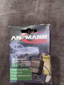 ansmann energy overnight mains ac 9 charger