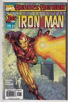 The Invincible Iron Man Vol 3 #1 Marvel Comics 1998