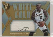 2016-17 Panini Gold Standard White Threads /49 Shaquille O'Neal #12 HOF