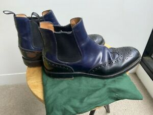CHURCH'S WOMAN ANKLE BOOTS CODE DT0001 KETSBY Size 37 Made in Italy