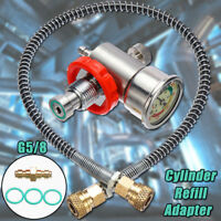 CO2 Cylinder Refill Connector Adapter&Hose Set for Soda Stream Tank Filling  !
