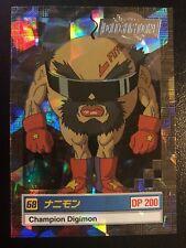Nanimon Digimon Card Animated Series II (Jap/English misprint/very rare