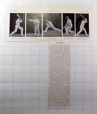 1928 Cricket, A team of admiral Jellicoe Clifton Brown Hikley Hugh Watson