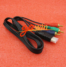 2PCS HDMI To 3-RCA 3RCA Video Component Connection Cable Cord Line new