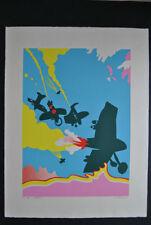 Originaldrucke (1950-1999) mit Arbeitswelt & Technik für Siebdruck
