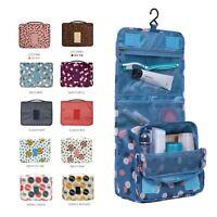 Cosmetic Travel Toiletry Wash Bag Makeup Storage Case Hanging Bag