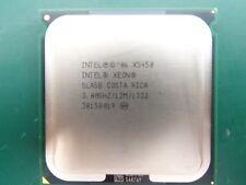 4 X Intel Xeon Processor SLASB X5450 12M Cache, 3.00 GHz, 1333 MHz FSB