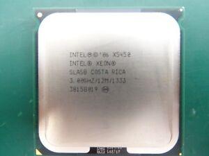 2 x Intel Xeon Processor CPU SLASB X5450 12M Cache 3GHz 1333MHz 120w JOB LOT