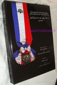 Book Freemason Decorations & Medals of / The Lebanon By Elie Ghossoub - Orders
