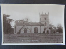 Overstone Village Church - Real Photo Postcard - Vintage