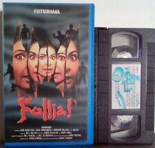VHS FILM Ita Horror FOLLIA! futurama 13ors2v luce ex nolo no dvd(VHS28).