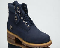 Timberland 6 Inch Premium Waterproof Boots Men's New Lifestyle Shoes Navy A1U89