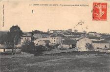 CPA 42 USSON EN FOREZ VUE PANORAMIQUE COTE DE L'EGLISE