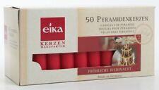 50 Eika Pyramidenkerzen rot 70x14 Mm schneller –