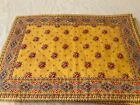 Pierre Deux French Country Yellow Place mats set of 4 handmade red blue