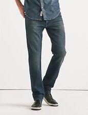 39c28b195f20 Lucky BRAND Jeans Mens 121 Heritage Slim Fit Pant Blue Denim Dark Wash 30  33 Point