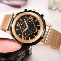 Fashion Women Stainless Steel Watch Analog Quartz Bracelet Dress Wrist Watches