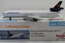 Herpa Wings 1:500 Lufthansa Cargo Boeing McDonnell Douglas MD-11F (503549)