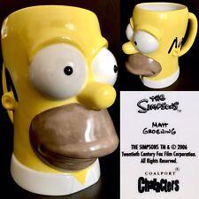 "Rare Collector's Coalport Characters ""Homer Simpson"" 8""/20cm Ceramic Tankard"