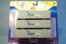 "Athearn 29164 3 x 40' Highcube Container ""SEAGO/MAERSK"" *ORIGINAL / herpa*"