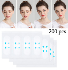 Face Lifting Sticker 200 Pcs V-Shape Lift Adhesive Tape Invisible Make Up Tools