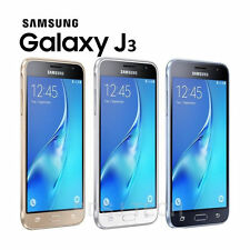 New Samsung Galaxy J3 (6) 2016 Dual Sim Unlocked 8GB SM-J320F Gold White Black
