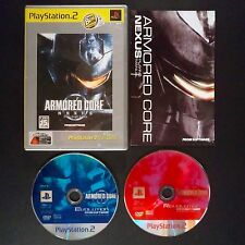 ARMORED CORE NEXUS PlayStation2 NTSC JAPAN・❀・SHOOTER MECH FROM SOFTWARE PS2
