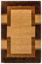 Tapis Gabbeh 115 x 60cm petit pont couleur naturelle fait main