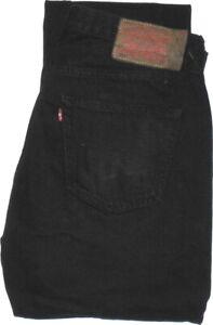 Levi's ®  501  Jeans  W33 L34  Schwarz  Vintage  TOP