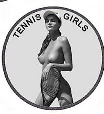 "ADULT 1 OZ. ""GIRLS IN SPORTS"" .999 FINE SILVER NUDE COIN (TENNIS GIRL)"