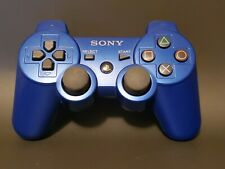 BLUE Sony OEM Dual Shock 3 Controller For PlayStation 3 PS3 Controller Blue OEM