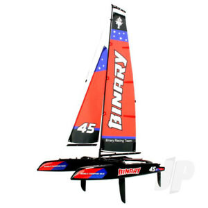 Joysway Binary 400mm Mini Catamaran Sailboat 2.4GHz RTR RC Boat