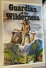 """Guardian of the Wilderness Folded Movie Poster 40"""" x 27"""" 1976"""