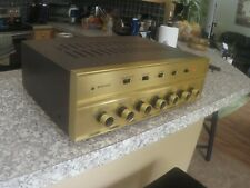 Bogan Ap 250 integrated tube amplifier. Working, Beautiful, 20 w/ch, A Real Gem.